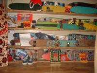 Selling vintage skateboards call  or email currently
