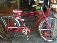 We have a Vintage Skyrider Deluxe Bike Bicycle. It is