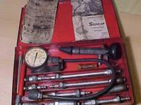 Vintage Snap On Compression Tester 1956. Parts are a
