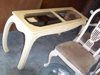 high quality vintage sofa table in excellent condition.