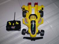 SONIC THUNDER Radio Shack RC Racing Car works great!