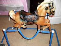 Vintage Wonder Horse, in EXCELLENT condition no rust,