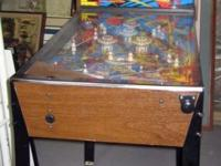 This is a 3/4 scale or little size used pinball