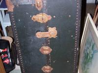 Vintage Steamer Trunk There are 4 drawers on one side