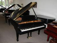 This is a gorgeous vintage Steinway grand piano, Model