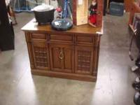 Vintage Stereo Cabinet for $15.00. Come on down to