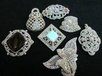 Great Old and Vintage Style Sterling Marcasite