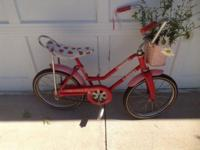 8-30-1982 Strawberry Shortcake Bike by Hedstrom Co.