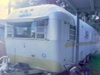 1970 Streamline Countess Travel Trailer. 27' length.