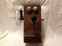 Vintage Stromberg-Carlson wall phone from the early