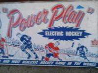 1950s era vintage hockey game it is complete asking