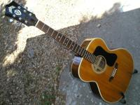 Classic Takamine F365S jumbo guitar, made in Japan,