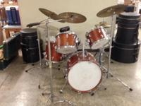 TAMA Drum Set - Superstar I believe the color is Honey