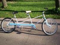 older tandem. new chains. single speed. fully