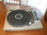 Technics sl-23 is a high quality belt driven turntable