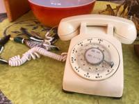 Vintage Telephones $30 and up each Mid Century Atomic