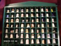 Vintage Thimble Collection great Christmas Gift for