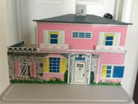 A trip back in time, this dollhouse will enhance a