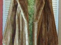 This Vintage Tissavel Faux Mink Fur Coat is Stunning!