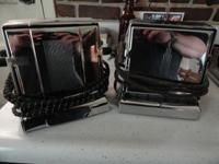 For Sale - 2 very nice Vintage toasters for one price -