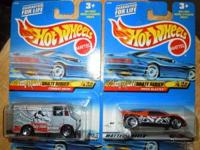 Full set of four Tony Hawk Series Hot Wheels from 1999.