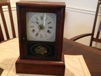 Gorgeous antique clocks both for $80 and torso a have