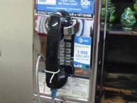 VINTAGE CIRCA 1980'S TOUCHTONE PAYPHONES ARE IN