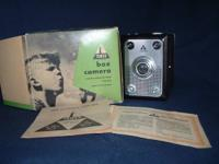 Vintage Tower box camera, model 7 made in West Germany,