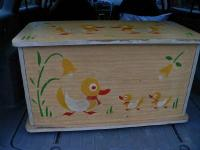 I have a vintage East Germany toy box. It was from