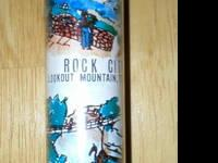 This toy telescope is a souvenir from Rock City,