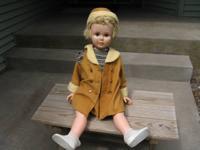 "Vintage Toys:  36"" Tall Vintage Doll Horsman 1959 -"