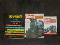 3 misc. vintage train magazines. Introduction to Scale