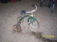 vintage tricycle in great shape if interested call