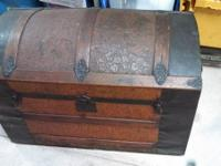Vintage Trunk with original latches and handles $300