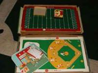 these are vintage electronic games baseball and