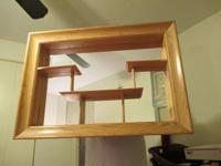 This is a truly good mid century mirrored shadowbox
