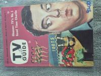 I Have a collection of over 200 Vintage TV Guide's from