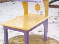 Who has this? Vintage Shabby Chic, Lilac & Yellow