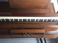 Vintage Gable Nelson Upright Piano, all key work and