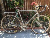 Vintage PEUGEOT Road Bicycle. Early 1970's. 10 Speed.