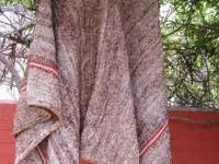 Heavy hand loomed Columbian Vicuna Wool Poncho.