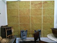Vintage Wall Paper Panels of Paris Circa 1960 Set of