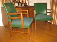 Mid-Century Modern Chairs. All original. Made by
