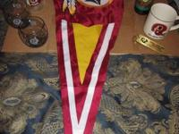 great deal of Washington Redskins football items, all