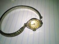 Vintage ladies wrist watches early mid 1900's.  One is