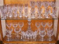 I have for sale 107 pieces of Vintage Waterford Kilcash