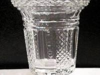 """Vintage Waterford """"Large Vase"""" Here we have a lovely"""