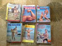 I have 66 vintage weightlifting magazines for sale, the