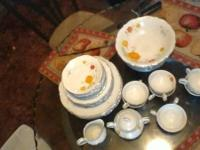 I have a 43 piece set of Wellin Fine China 5600 Tivoli