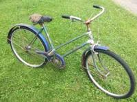 Old Womans Bicycle for restoration. The brand is Rixie
